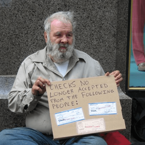 How to Get Rid of a Panhandler